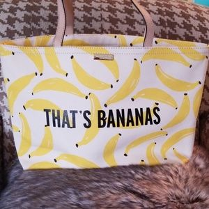 kate spade Bags - Kate Spade New York That's Bananas Canvas Tote Bag